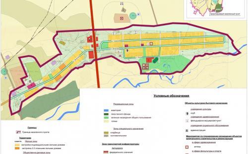 Генеральный план с.Гавриловка