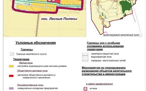 Генеральный план пос.Лесные Поляны